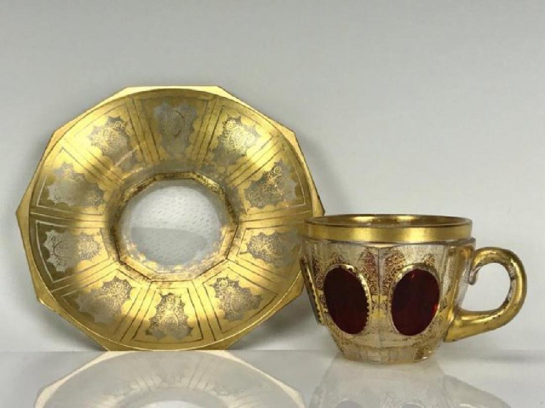 MOSER CUP AND SAUCER - 2