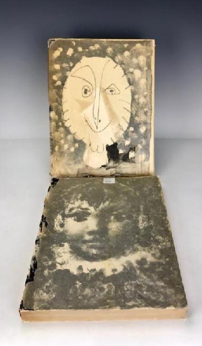 2 RARE PICASO LITHOGRAPHE BOOKS BY JAIME SABARTES