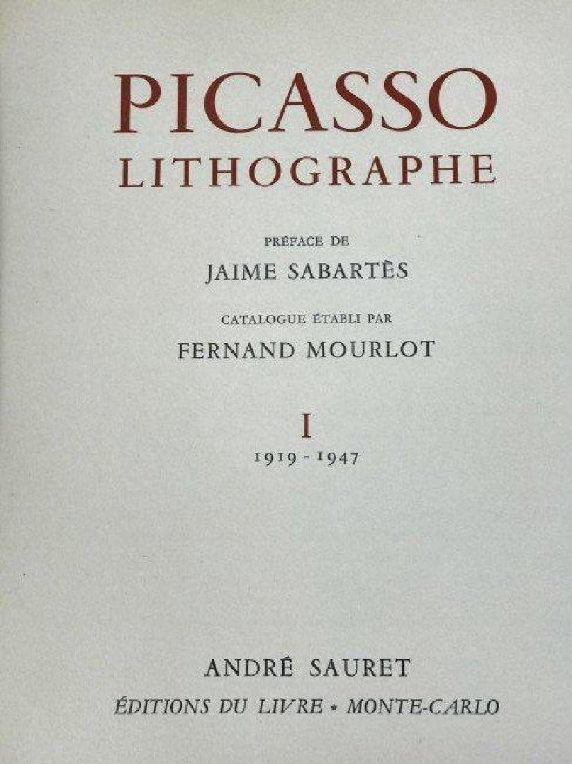 2 RARE PICASO LITHOGRAPHE BOOKS BY JAIME SABARTES - 4