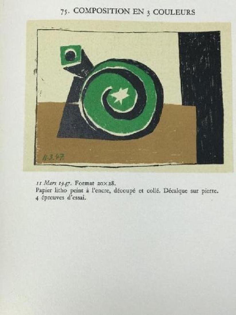 2 RARE PICASO LITHOGRAPHE BOOKS BY JAIME SABARTES - 5