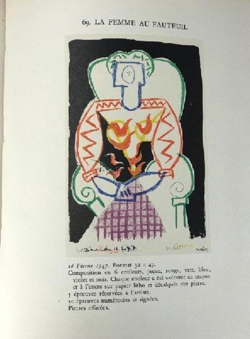 2 RARE PICASO LITHOGRAPHE BOOKS BY JAIME SABARTES - 6