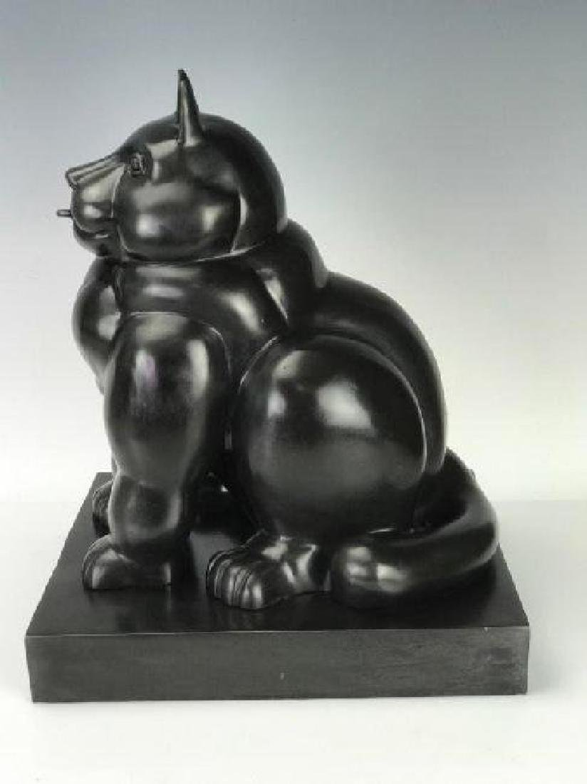 A SIGNED BOTERO BRONZE SCULPTURE