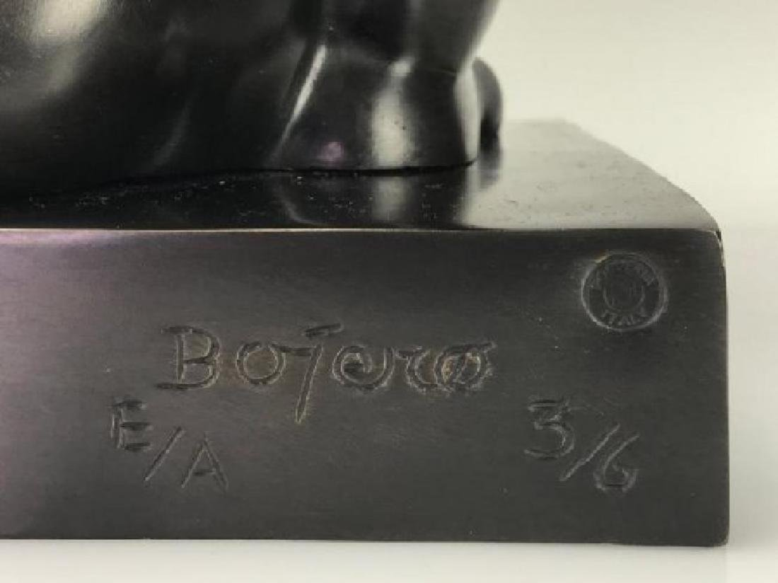 A SIGNED BOTERO BRONZE SCULPTURE - 5