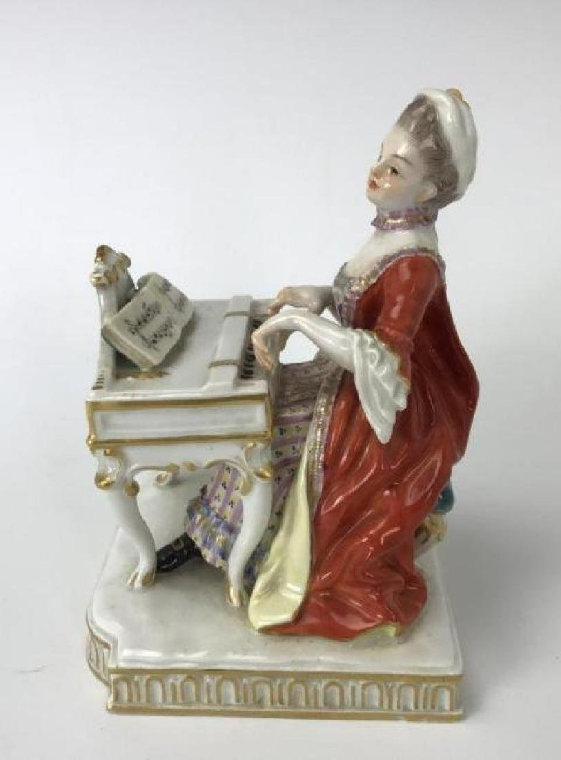 "MEISSEN GROUP DEPICTING ""HEARING"""