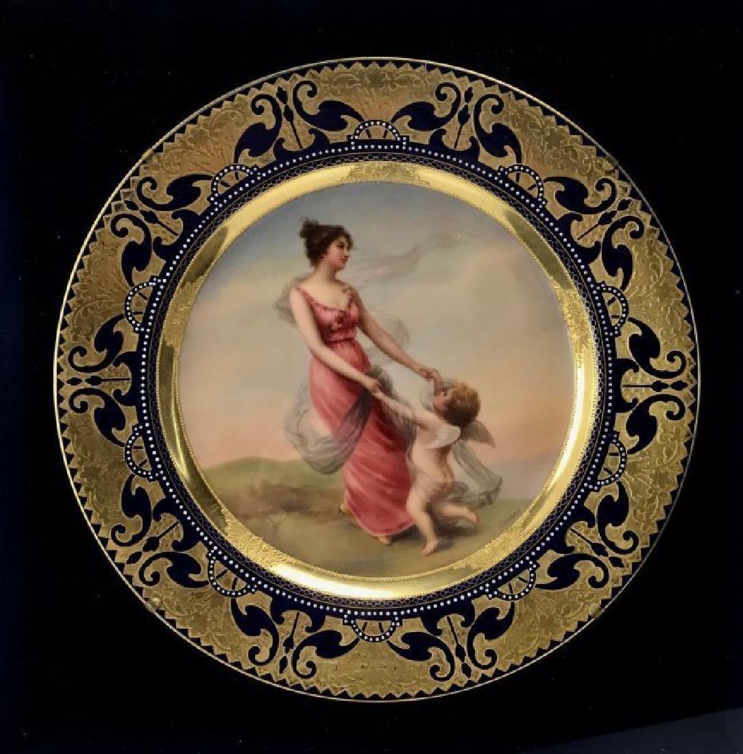 19TH CENTURY ROYAL VIENNA PLATE - 2