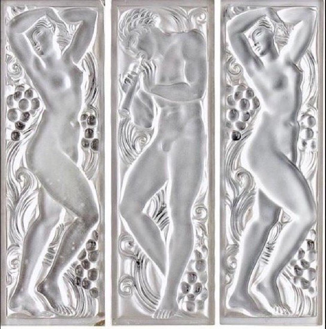 LALIQUE 3 FOLD SCREEN