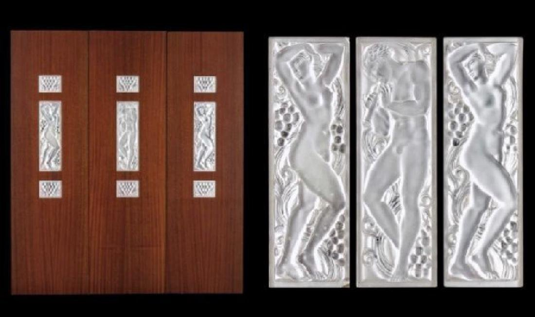 LALIQUE 3 FOLD SCREEN - 2