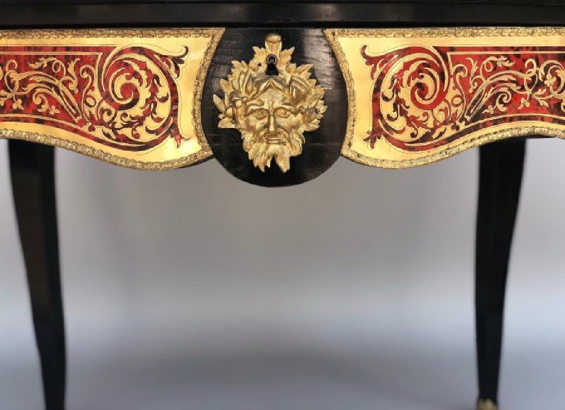19TH C. ORMOLU MOUNTED BOULLE TABLE - 4