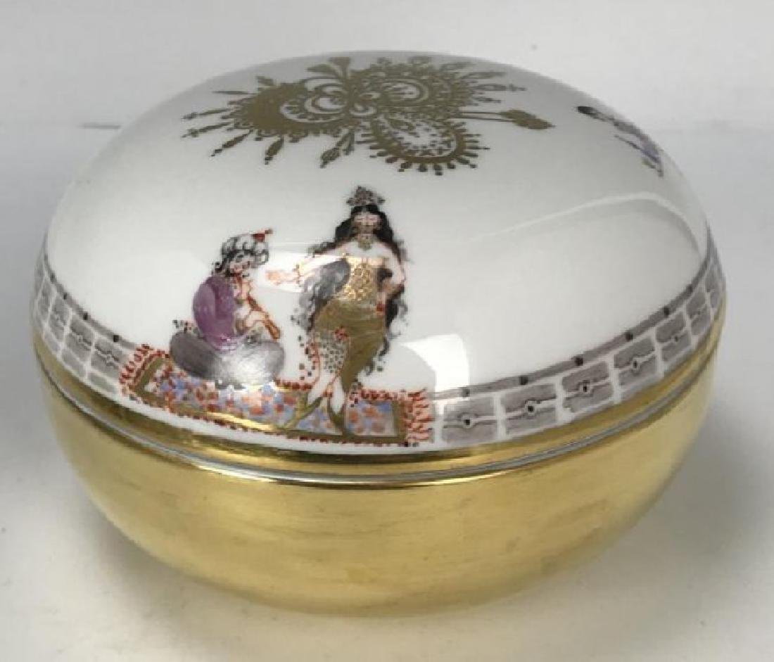 MEISSEN ARABIAN NIGHT BOX