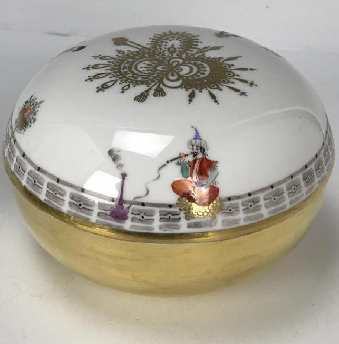 MEISSEN ARABIAN NIGHT BOX - 2