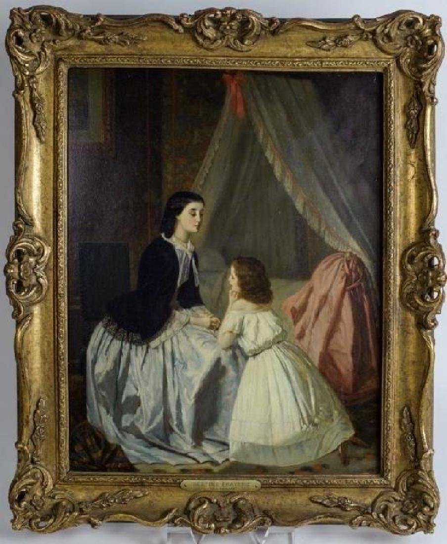 19TH CENTURY GERMAN OIL PAINTING SIGNED F. PULSEN