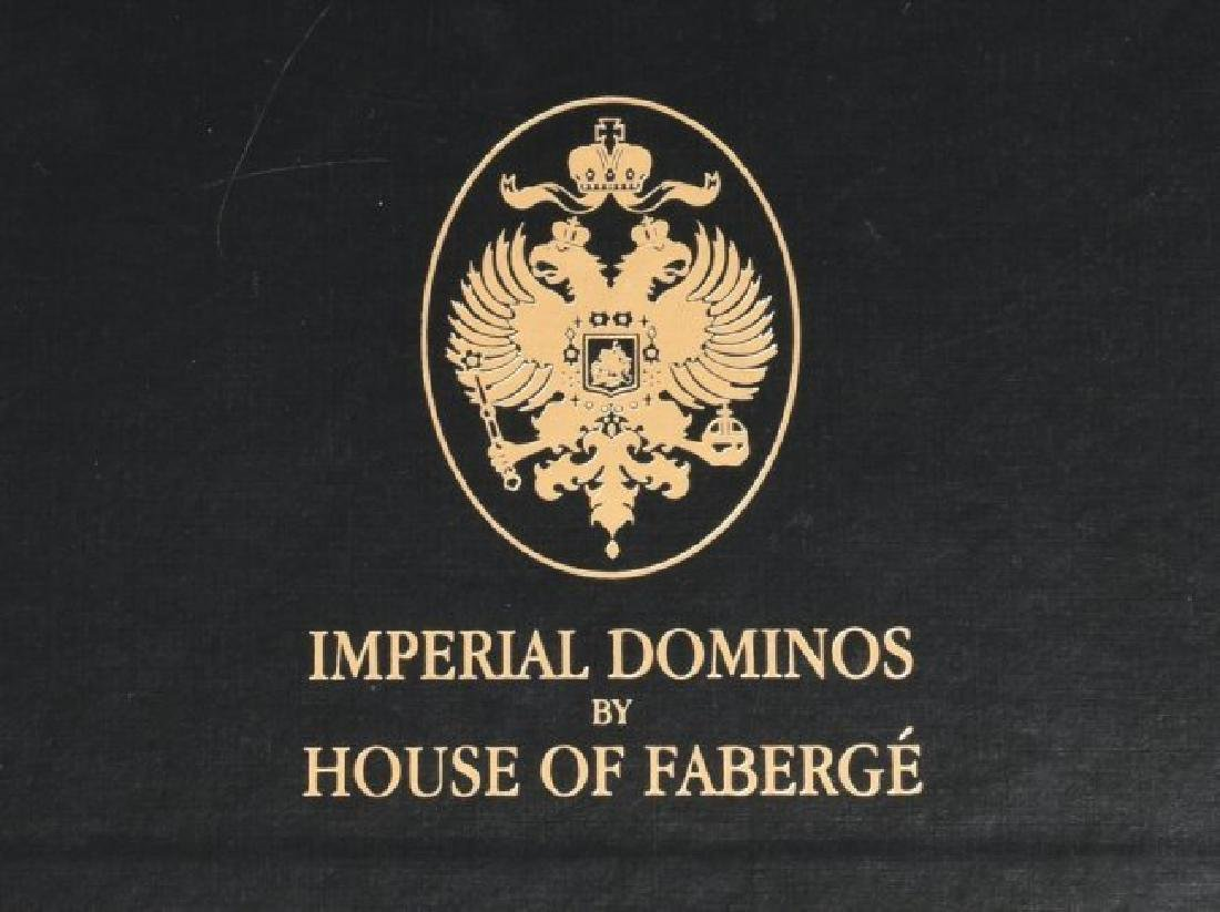 HOUSE OF FABERGE IMPERIAL DOMINO SET - 3