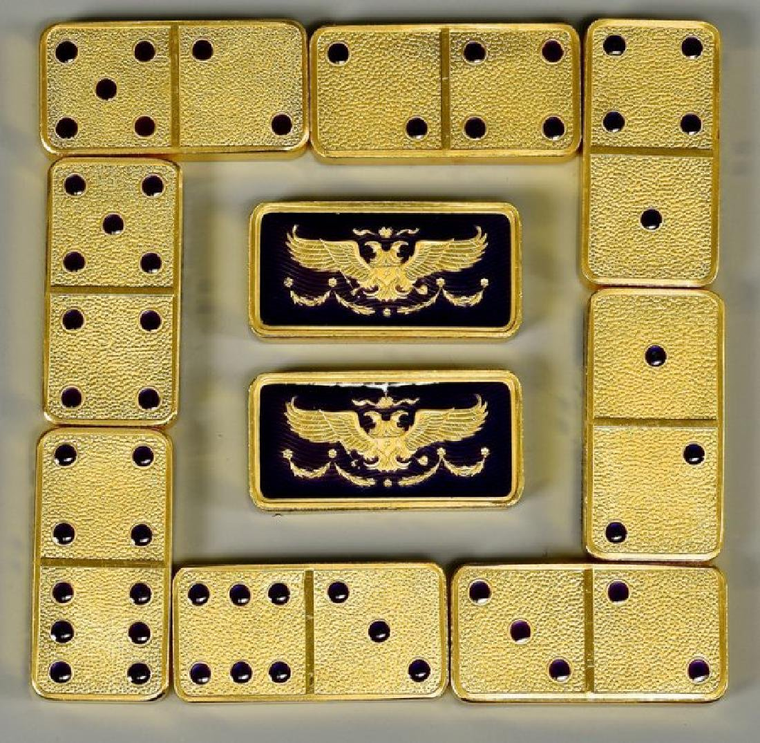 HOUSE OF FABERGE IMPERIAL DOMINO SET - 4