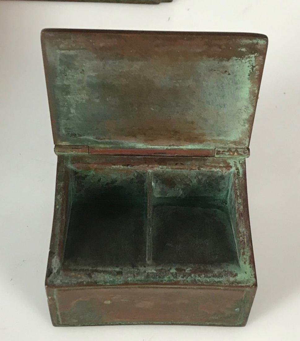 TIFFANY STUDIOS DESK SET CIRCA 1920 - 2