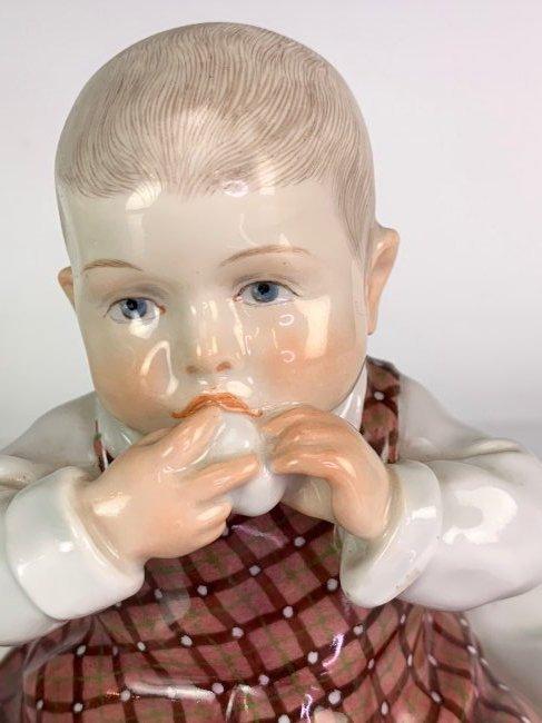 A MEISSEN HENTSCHEL CHILD CIRCA 1905 - 4