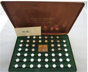 STERLING SILVER COINS OF PRO FOOTBALLERS HALL OF FAME