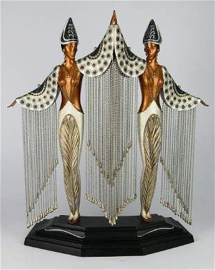 ERTE COLD PAINTED BRONZE