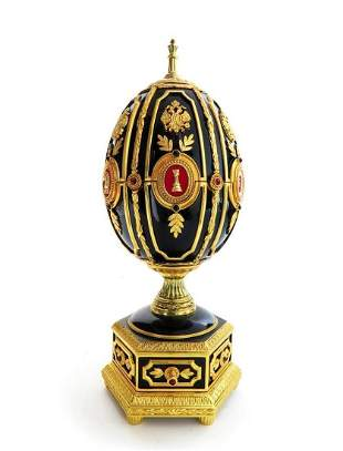 IMPERIAL FABERGE CHESS SET EGG