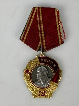 RUSSIAN 22KT GOLD MEDAL