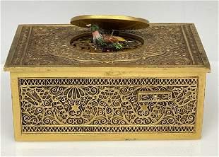 GERMAN AUTOMATON BIRD BOX