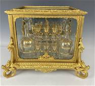 19TH C. ORMOLU AND BACCARAT GLASS TANTALUS