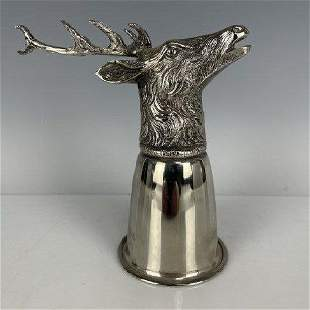 SILVER PLATED GUCCI COCKTAIL MEASURE