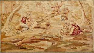 19TH C. FRENCH TAPESTRY