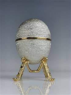 FABERGE STYLE HEN EGG