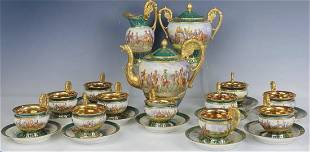 IMPERIAL FRENCH SEVRES NAPOLEONIC TEA SET