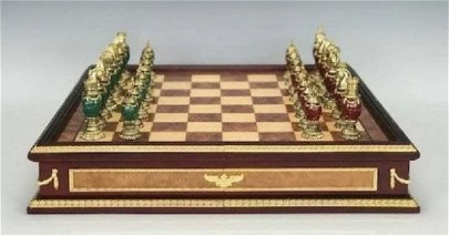 IMPERIAL FABERGE CHESS SET