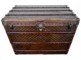 An Exceptional Louis Vuitton Trunk