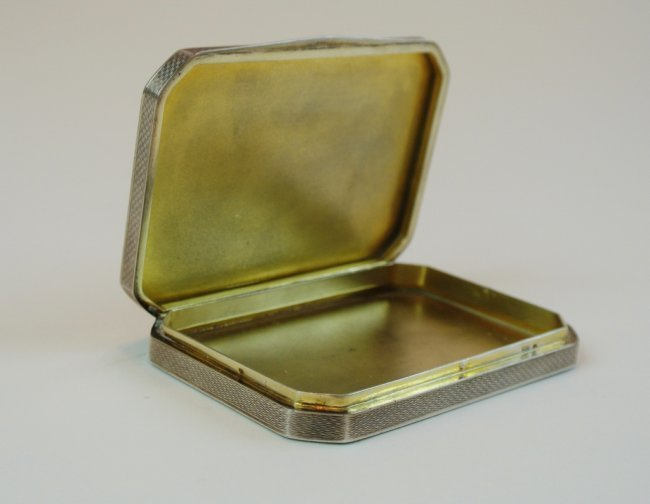 19TH CENTURY AUSTRIAN STERLING SILVER ENAMEL BOX - 2