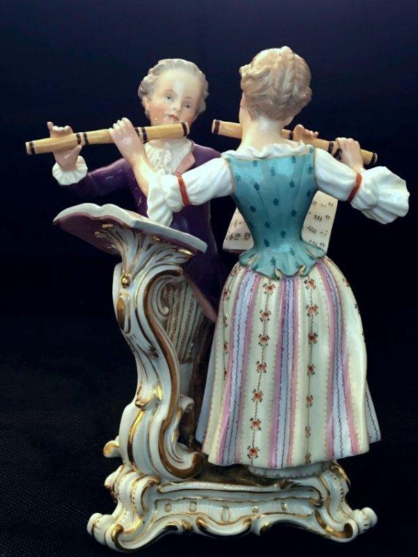 19TH CENTURY MEISSEN MUSICAL GROUP