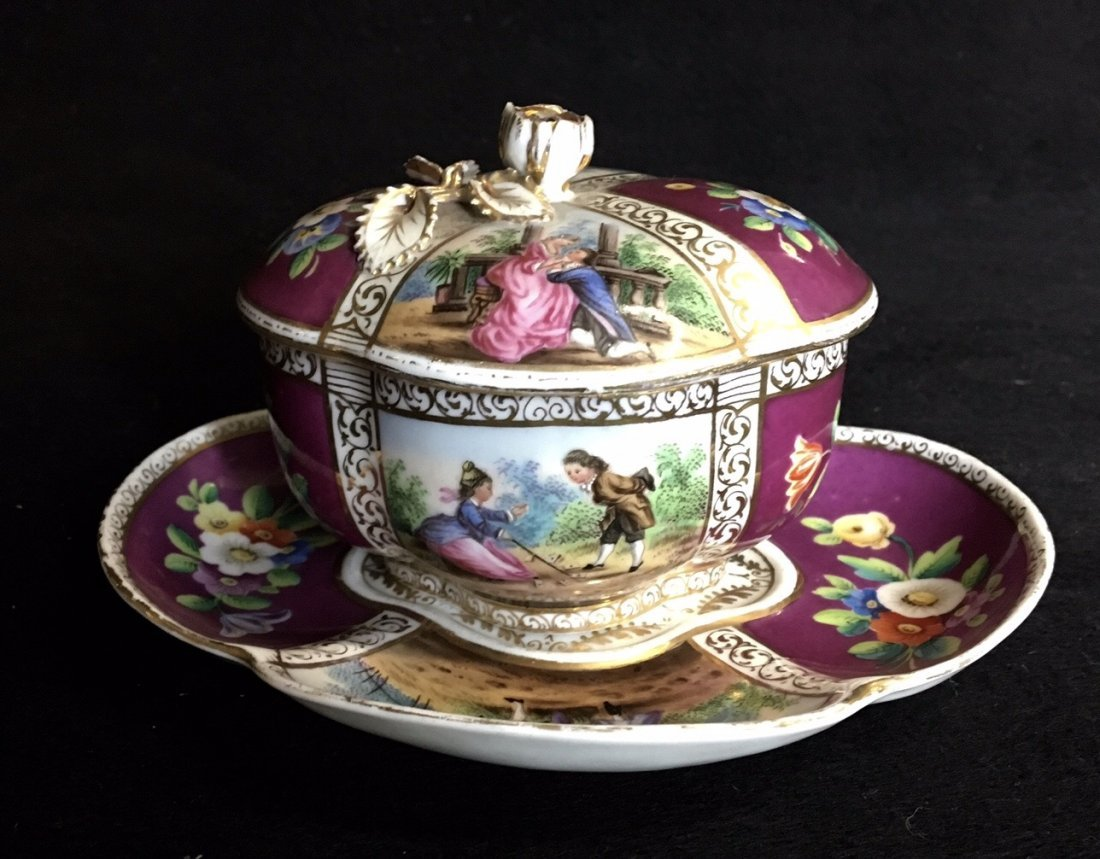 HELENA WOLFSOHN CHOCOLATE CUP AND SAUCER - 2