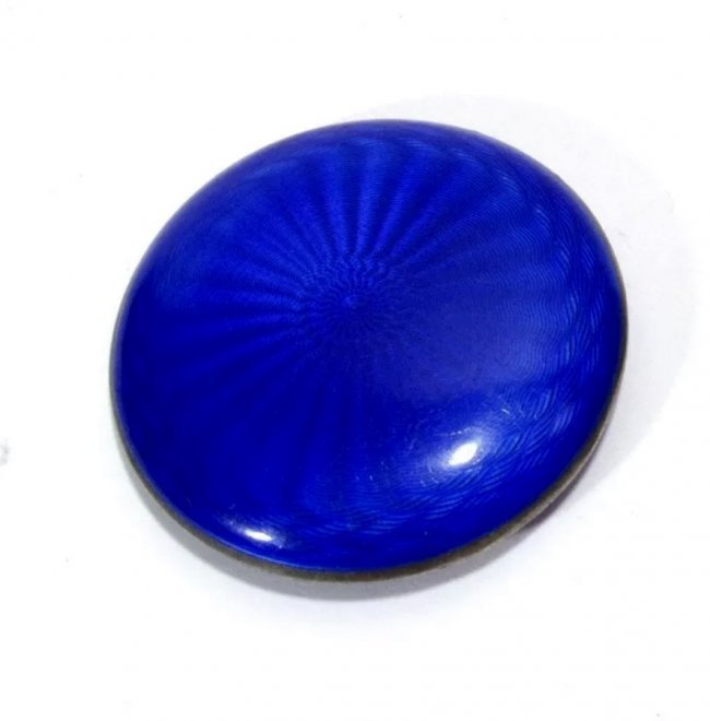 ANTIQUE CONTINENTAL SILVER AND ENAMEL COMPACT - 2