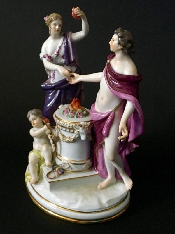 19TH CENTURY MEISSEN GROUP - 2