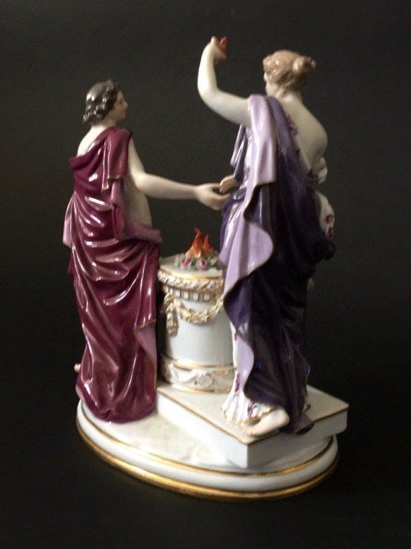 19TH CENTURY MEISSEN GROUP - 3