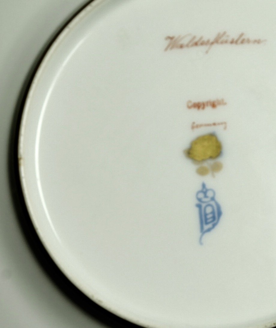 A MAGNIFICENT ROYAL VIENNA PLATE SIGNED WAGNER - 3