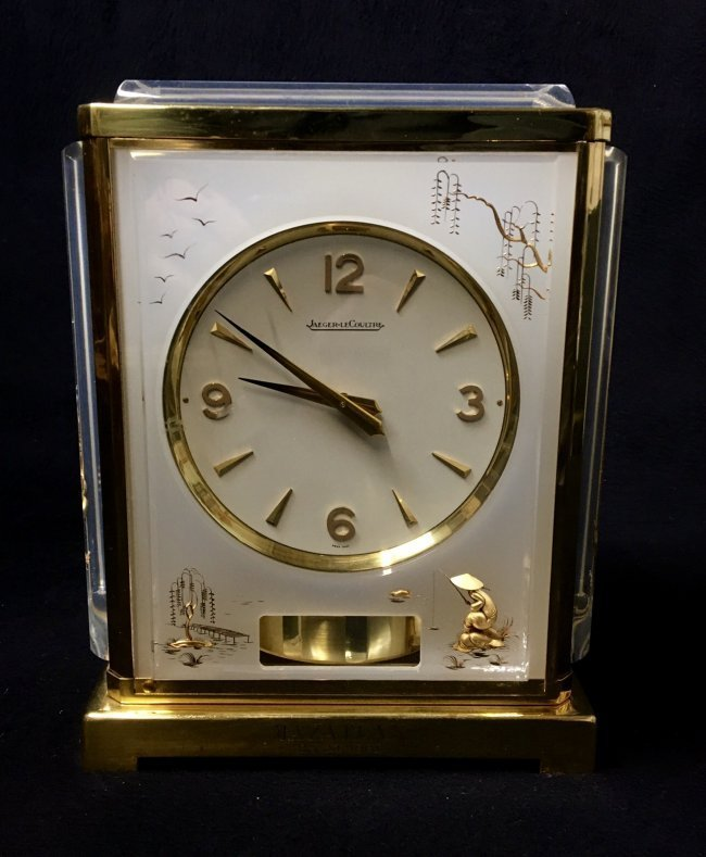CHINOISERIE JAEGER LE COULTRE ATOMOS CLOCK