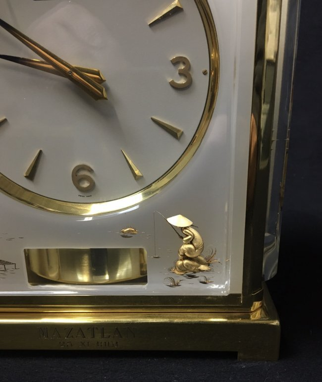 CHINOISERIE JAEGER LE COULTRE ATOMOS CLOCK - 2