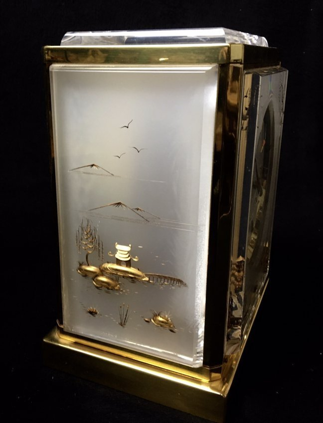 CHINOISERIE JAEGER LE COULTRE ATOMOS CLOCK - 3