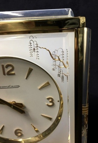 CHINOISERIE JAEGER LE COULTRE ATOMOS CLOCK - 4