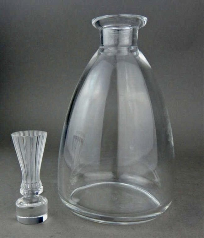 LALIQUE CRYSTAL DECANTER - 2