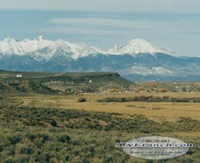 133: COLORADO: San Luis, Mountain Views, 2.5 Acres-CASH