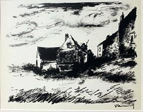 waiting for the storm  - Lithograph  valmark