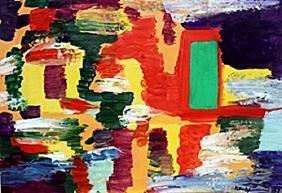 Composition 1950' - Hans Hoemann