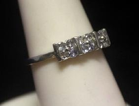 Dazzling Tanzanite Silver Ring