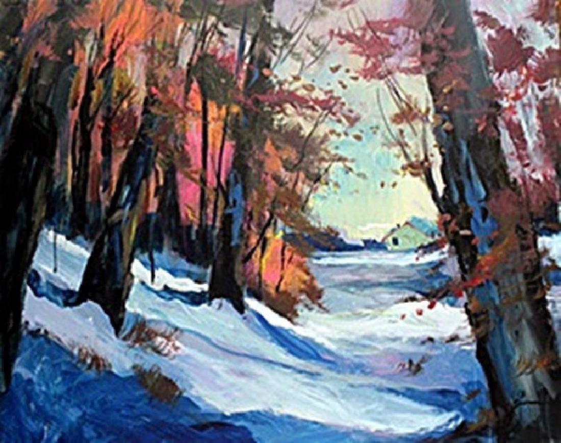 Original Oil Painting on Canvas - Michael Schofield