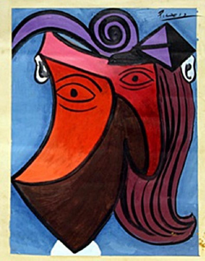 Woman Head 1945' - Pablo Picasso