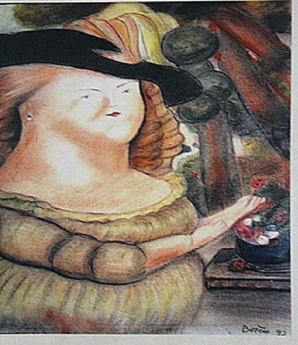 Fernando Botero - Señora Rodriguez